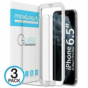 """Maxboost Screen Protector for Apple iPhone 11 Pro Max and iPhone XS Max (6.5"""")"""