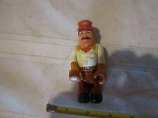 Fisher Price Husky Helper construction man dad truck driver bulldozer crc hat