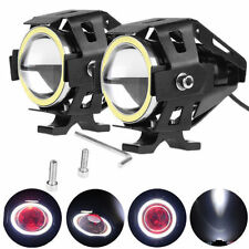 U7 Cree 15watt Led Fog Light+white angel eye+demon eye for YAMAHA Bikes
