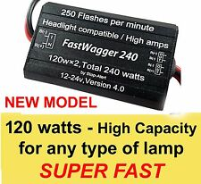 Headlights Alternating Wig Wag FastWagger 240 LED Flasher Emergency Police
