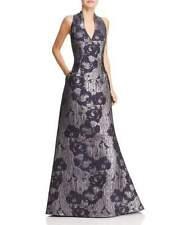 Aidan Mattox Metallic Floral Print Gown MSRP $395 Size 4 # 2NB 561 NEW