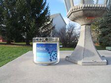 NEW - Bath & Body Works jar candle - Relax - Lavender Vanilla  - 14.5 oz.