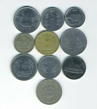India - Republic - Lot of 10 different coins - Great Starter - Lot # IN-14