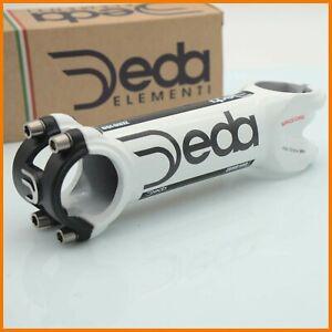 "NOS DEDA ZERO 100 130mm STEM THREADLESS AHEAD 1""1/8 31.8mm ROAD BIKE BICYCLE"