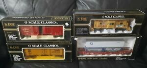 K-Line Electric Trains O Scale Lot of 4 Die Cast