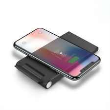 US 15W Fast Foldable Qi Wireless Charger Charging Pad Mat Stand For i Phone 11 8