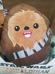 "Star Wars Chewbacca  20"" Squishmallow the Mandalorian Plush Pillow"