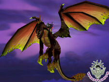 Feldrake Loot Card World of Warcraft Flying Mount War the Ancients Fel Drake WoW