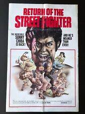 "Return of the Street Fighter (1975) -Original One Sheet Movie Poster - 27"" x 41"""