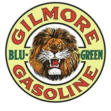 Vintage Style Metal Sign Gilmore Blu Green 14 x 14