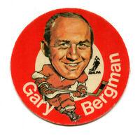 1973/74 Mac's Milk Gary Bergman Cloth Sticker Detroit Red Wings