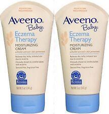 Aveeno Baby Eczema Therapy Moisturizing Cream 5oz ( 2 pack )***
