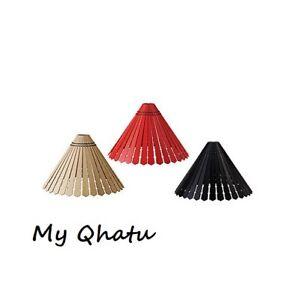 Ikea Pendant Lamp SHADE Ryssby Modern Black Red Beige Natural SEKOND Cord FABRIC
