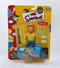 2002 Playmates Toys The Simpsons Series 8: Ragin' Willie Action Figure