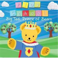 Play School Big Ted, Prince Of Bears CD Super Rare 2014 Der Glumph ABC For Kids