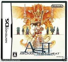 Used DS Ash: Archaic Sealed Heat NINTENDO JAPANESE IMPORT