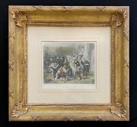 """""""The Seven Ages Of Man"""", Colored Print-Custom Composition Picture Frames"""