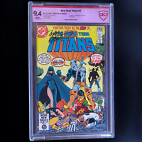 NEW TEEN TITANS #2 💥RARE UK PRICE VARIANT + SIGNED WOLFMAN💥 CBCS 9.4
