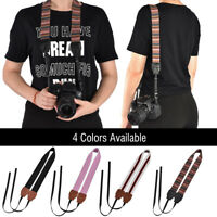 Universal Camera Shoulder Neck Sling Strap Belt with Buckle for SLR DSLR Camera
