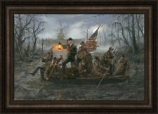 Crossing The Swamp by Jon McNaughton - 10x15 Framed Litho Print