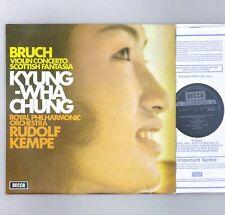 "Bruch - Violin Concerto - Kyung-Wha Chung - Kempe - NM 12"" Vinyl - SXL 6573"