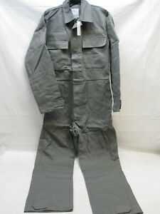 MILITARY COVERALLS ARMY AIR FORCE FOLIAGE GREEN OVERALLS MECHANIC UTILITY SUIT