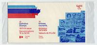 Weeda Canada 1973-74 Definitives, sealed Canada Post pack, Quarterly precursor