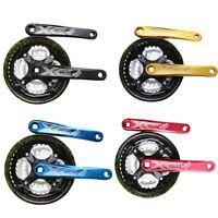Mountain Bike Crankset Chainwheel Bicycle Crank Sprocket 24/34/42T  7/8/9 Speed