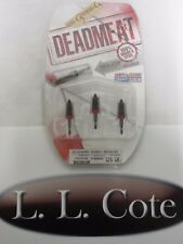 G5 Deadmeat Dead Meat 3 blade Crossbow Broadhead 125 grain