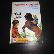 Enid Blyton: Familie Langfeld. Unverhoffter Besuch (Junge Lese, Hardcover, 1970)
