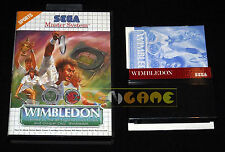 WIMBLEDON Master System Versione Europea PAL ••••• COMPLETO