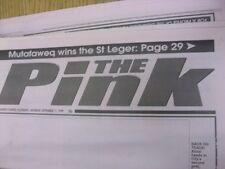 11/09/1999 Coventry Evening Telegraph The Pink: Main Headline Reads: Blues Stumb