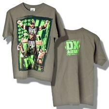 CATCH WWE T-shirt DX ARMY Taille 7-8 ans