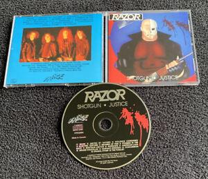 Razor Shotgun Justice CD Reprint