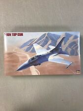 Hasegawa 1:48 F-16N Top Gun Plastic Aircraft Model Kit #06107 SEALED