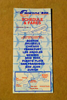 Capitol Air Timetable - Oct 25, 1981
