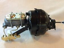 "1970-81 Camaro Firebird 9"" dual brake booster master cylinder disc drum valve"