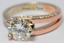 2.02 Carat Round Brilliant Diamond Ring 14k Gold Ladies Size 7 GIA