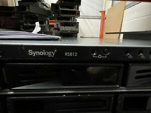 RS812 Synology 4 Bay NAS Tested with warranty, VAT Delivery