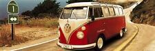 VW Camper: Route One-vista/cartel de la puerta 158cm X 53cm (nuevo Y Sellado)