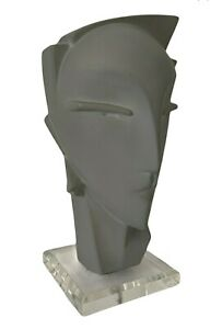 1980s Art Deco Bust In Lindsey B. Balkweill Style