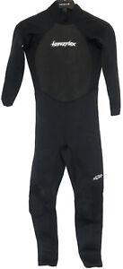 Hyperflex Access Mens Full Wetsuit Size Medium 3/2 MM Back Pull Zipper Wet Suit
