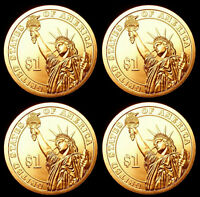 2013 P+D Theodore Roosevelt Presidential Dollar Set ~ Pos A+B ~ From Mint Roll