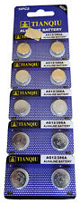 10 AG12 386A LR43 SR43SW LR1142 301 SR43 RW84 Alkaline Button Cell Watch Battery
