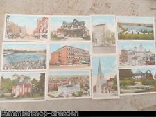 21342 YORK PA 10 post cards Elk´s home country club hotel penn market street