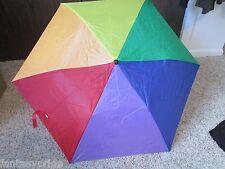 """Gay Pride RAINBOW 38"""" WIDE UMBRELLA - NEW"""