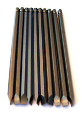 """10 ENKAY 6"""" FLAT HEAD 1/4"""" SLOTTED SCREW DRIVER BITS MAGNETIC TIP STRAIGHT"""