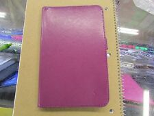 Bear Motion Samsung Galaxy TAB 3 LITE 7 Tablet Folio Stand Case PURPLE LOT of 10