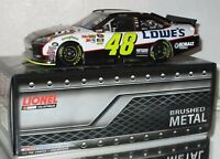 2011 Jimmie Johnson #48 Lowe's BRUSHED METAL 1/24 car#118/148 RARE AWESOME
