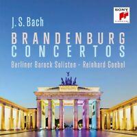 BRANDENBURGISCHE KONZERTE - BERLINER BAROCK SOLISTEN/GOEBEL,REINHARD  2 CD NEU